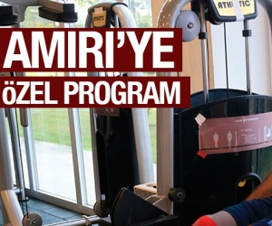 Amiri'ye özel program